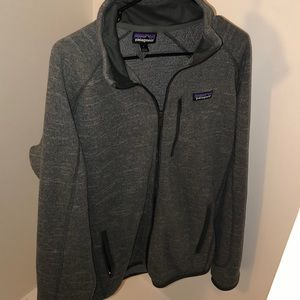Patagonia zip up fleece jacket